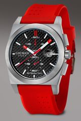 Locman Watches Stealth Chronograph, Red-black - Lyst