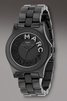 Marc By Marc Jacobs Marco Marc Watch, Black - Lyst