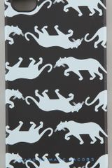 Marc By Marc Jacobs Multi Panther 4g Iphone Cover - Lyst