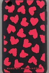 Marc By Marc Jacobs Wild Hearts 3g Iphone Cover - Lyst