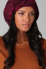 Marc By Marc Jacobs Tito Hand-knit Wool Hat - Lyst