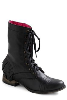 ModCloth Betsey Johnson Ruffle It Up Boot - Lyst