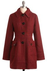 ModCloth Bundle Up Coat - Lyst