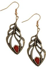 ModCloth Good Luck Tree Earrings - Lyst