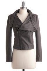 ModCloth Front Page Photo Jacket - Lyst