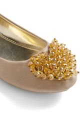 Modcloth From Heart To Toe Flat in Beige (pearl) - Lyst
