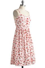 Modcloth Forever Fields Dress in Pink - Lyst