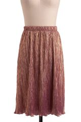 ModCloth Shimmer Of Hope Skirt - Lyst