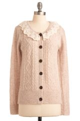 ModCloth The Wheat Is On Cardigan - Lyst