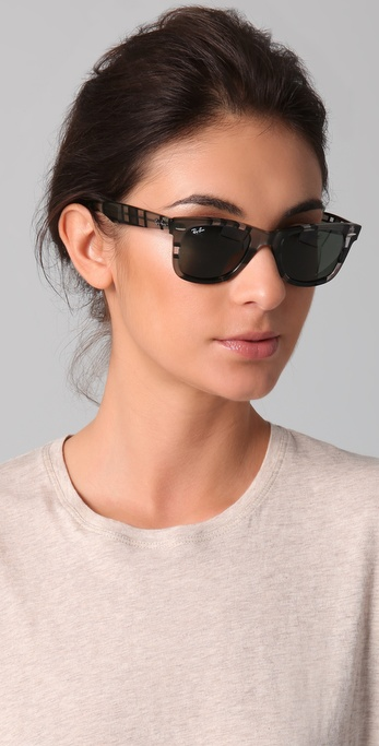womens ray ban wayfarer  Ray-ban Wayfarer Sunglasses in Gray