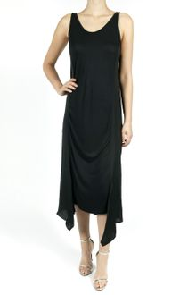 T By Alexander Wang Long Satin Tank Dress - Lyst