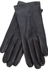 Dents Leather Gloves with Silk Lining - Lyst