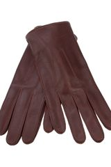 Dents Leather Glove - Lyst