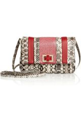 Anya Hindmarch Stripy Gracie Mini Shoulder Bag - Lyst
