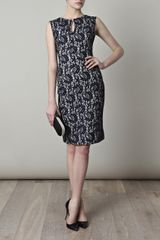 Erdem Tara Lace Dress in Blue (navy) - Lyst