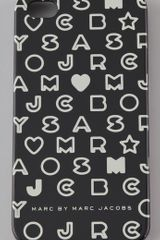 Marc By Marc Jacobs Stardust Logo 4g Iphone Cover - Lyst