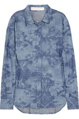 Stella McCartney Hawaiianprint Chambray Shirt