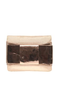 ASOS Collection Asos Mirrored Bow Clutch - Lyst