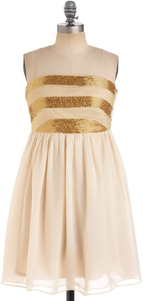 ModCloth Dancing Til Daybreak Dress - Lyst