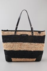 Rebecca Minkoff Endless Love Straw Tote - Lyst