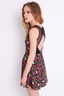 Nasty Gal Full Bloom Sweetheart Dress - Lyst