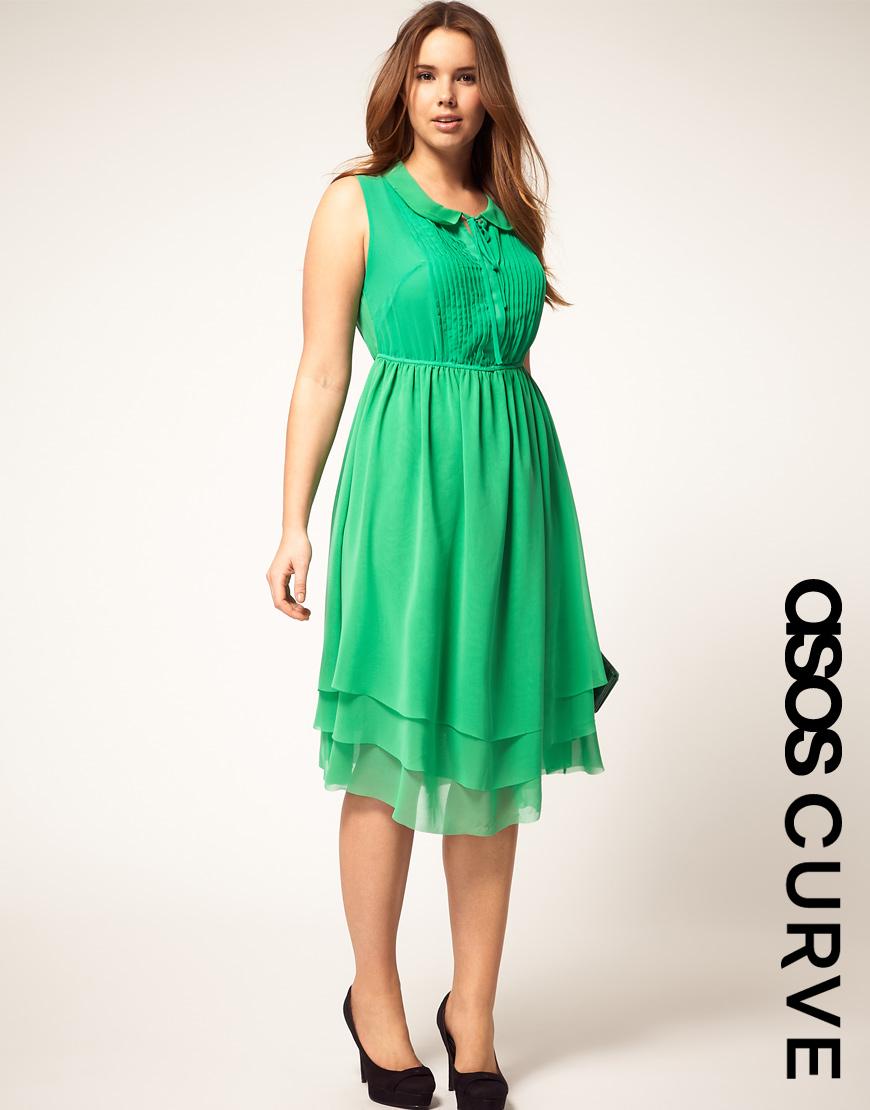 S Peter Pan Collar Dress Fashion