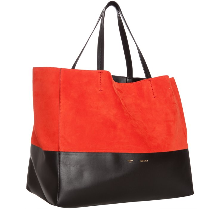 celine bi horizontal tote bag