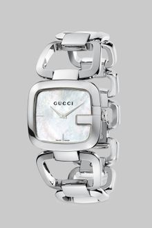 Gucci Stainless Steel G-frame Watch - Lyst