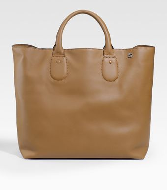 Gucci Leather Tote - Lyst