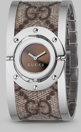 Gucci Twirl Bangle Watch - Lyst
