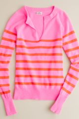 J.Crew Cashmere Candy-stripe Sweater - Lyst
