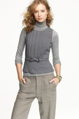 J.Crew Facsimile Top in Wool Crepe - Lyst