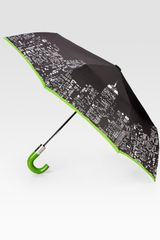 Kate Spade City Lights Automatic Umbrella