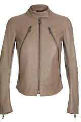 Maison Martin Margiela Leather Biker Jacket - Lyst