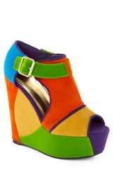 ModCloth Divine And Conquer Wedge - Lyst