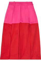 Preen Line Saint Tropez Stretch Cotton-twill Skirt - Lyst