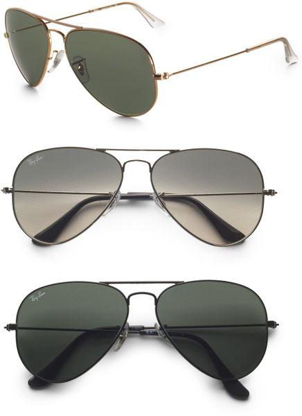 Black Aviator Sunglasses For Men Ray Ban Black For Men Ray Ban