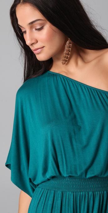 t bags maxi dress one shoulder