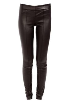 The Row Yurtly Leather Leggings - Lyst
