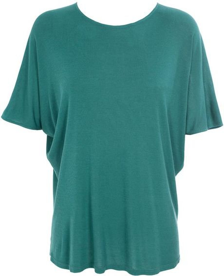 The Row Catilano Cashmereblend Top in Blue (teal) - Lyst