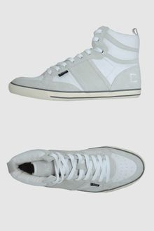 Date Hightop Trainers - Lyst