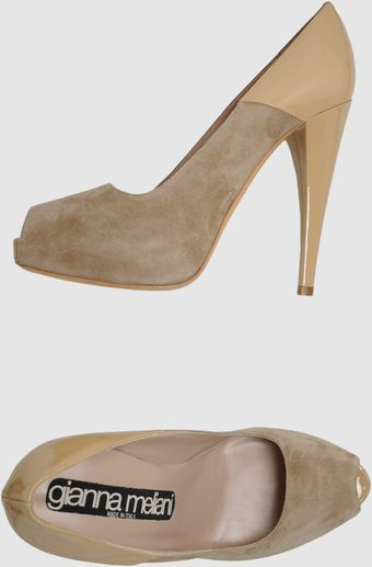 Gianna Meliani Pumps with Open Toe - Lyst