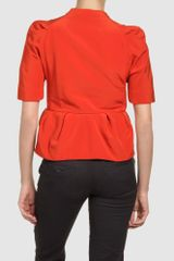 Marni Blazers in Orange - Lyst