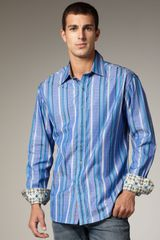 Robert Graham The J.p. Striped Sport Shirt - Lyst