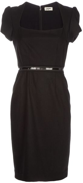 L'agence Evening Dress in Black - Lyst