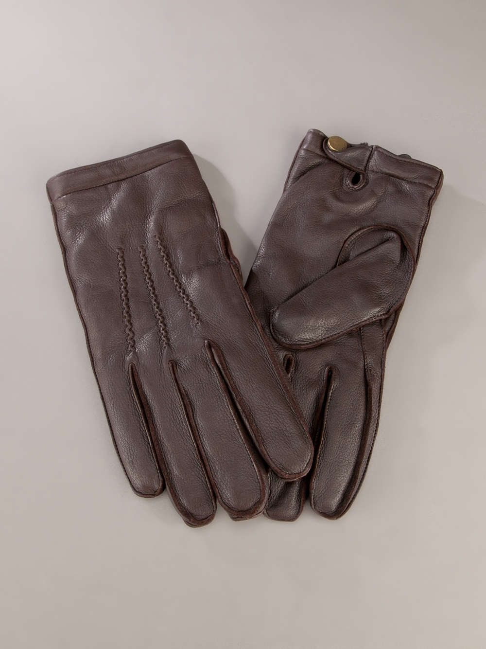 Driving gloves debenhams -  Polo Ralph Lauren Leather Gloves In Brown For Men Lyst