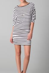 Alice + Olivia Salem Striped Dolman Dress - Lyst