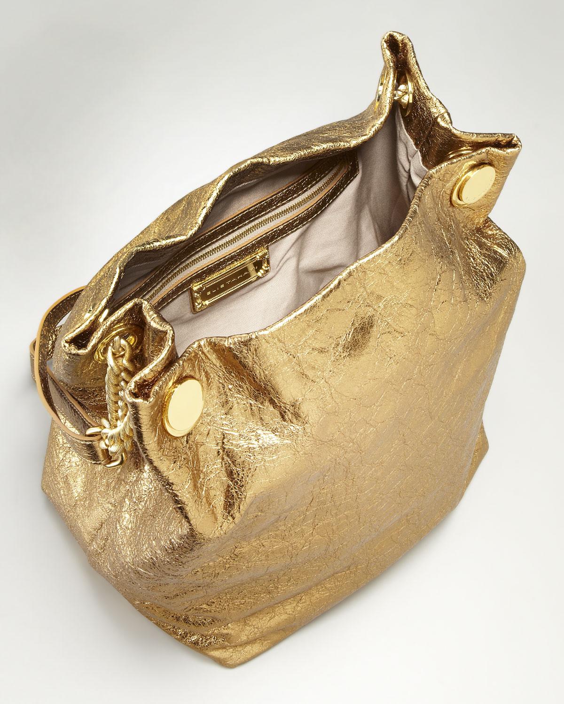 2682e358ebcd Lyst - Elie Tahari Tinsley Metallic Gold Chain Strap Tote in Metallic