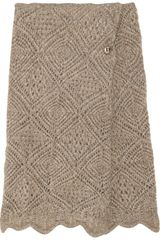 Missoni Elogio Crochet-knit Wrap Skirt - Lyst