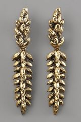 Aurelie Bidermann Wheat Clip Earrings - Lyst